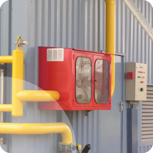 Coffrets simples coupure gaz