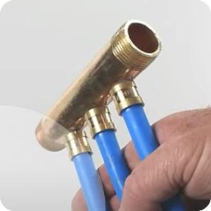 Collecteurs chauffage tubes PER