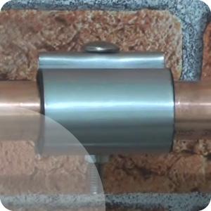 Colliers de réparation pour tubes rigides