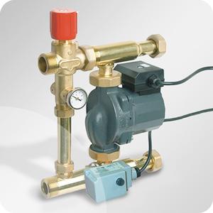 Module hydraulique plancher chauffant radiateur