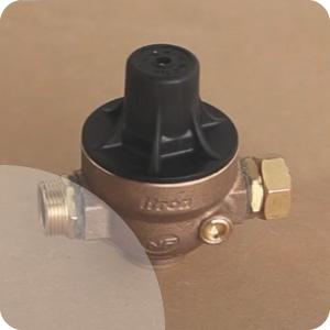 Réducteur de pression chauffe-eau