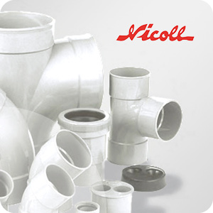 Raccord PVC Blanc Nicoll