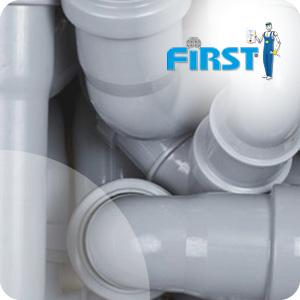 Raccord PVC évacuation First Plast