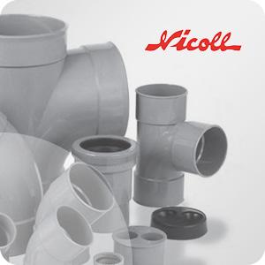 Raccord PVC évacuation Nicoll