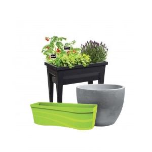 Pot de fleur, jardinière et potager