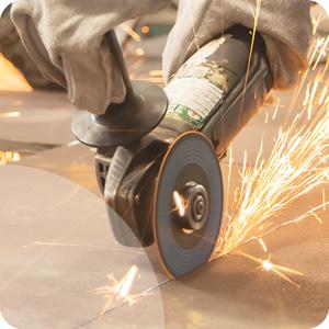 Disques à tronçonner l'acier