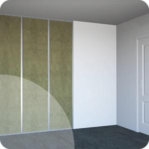 Isolation cloison intérieure
