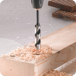 Mèche à bois