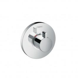 Set de finition pour mitigeur thermostatique ShowerSelect S encastré haut débit chromé Hansgrohe