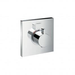 Set de finition pour mitigeur thermostatique ShowerSelect E encastré haut débit Hansgrohe