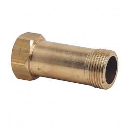 """Allonge laiton compteur Mâle-Femelle 3/4"""" - Lg:67.5mm"""