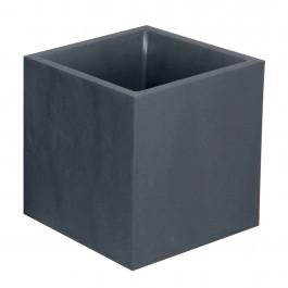 Bac VOLCANIA Gris anthracite - carré 40 x 40cm - 31L