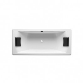 Baignoire rectangulaire biplace HALL Roca 1800x800mm