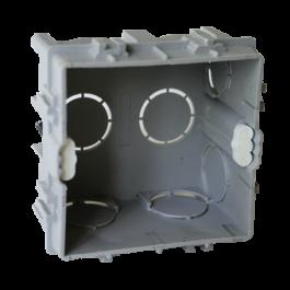 Boitier d'appareillage à sceller à vis 65x65 Prof.40 mm juxtaposable
