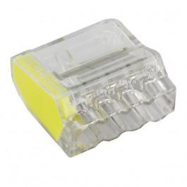 100 Bornes de connexion 4 fils 1 à 2.5mm²