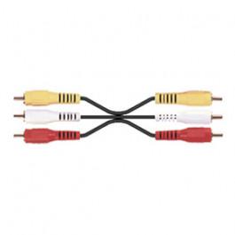 Câble audio/video RCA mâle/mâle
