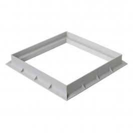 Cadre PVC anti-choc pour grille et tampon - GRIS - FIRST-PLAST