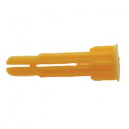 100 Chevilles crampon jaune en grappe 6x27