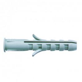 25 Chevilles plastique avec collerette 12x60