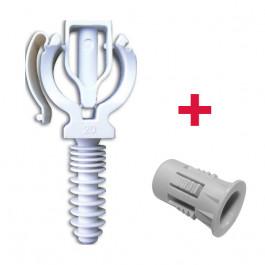 CLIPEO Simple Ø25 + BAGCLIP - Fixation pour tube multicouche