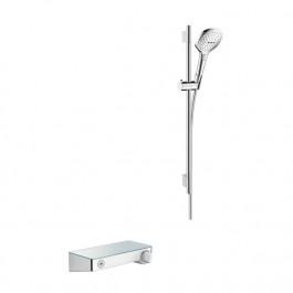 Combi Raindance Hansgrohe Select E 120 ShowerTablet Chromé