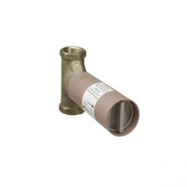 Corps encastrement robinet arrêt 3/4 à clapet Débit 130l/mn