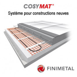 Trame COSYMAT Système neuf 1000W - 10m²
