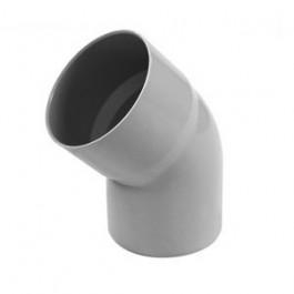 Coude PVC 45° MF pour tube de descente Ø80