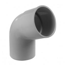 Coude PVC 67°30 MF pour tube de descente Ø80
