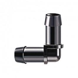Coude 90° cannelé tuyau 13x16 (Lot de 2)