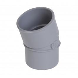 Coude PVC 20° Mâle Femelle NICOLL