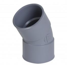 Coude PVC 30° Femelle Femelle NICOLL