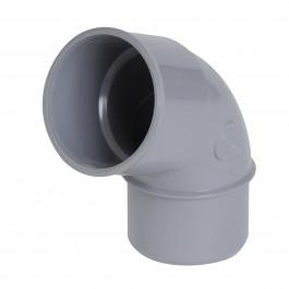 Coude PVC 67° Mâle Femelle NICOLL