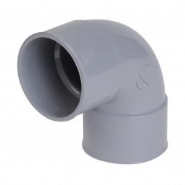 Coude PVC 87°30 Femelle Femelle NICOLL