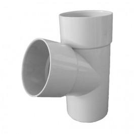Culotte PVC 45° MF pour tube de descente Ø80