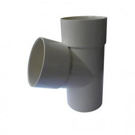 Culotte PVC 67°30 MF pour tube de descente Ø100