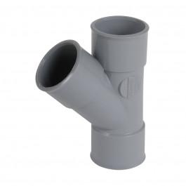 Culotte PVC 45° Femelle Femelle NICOLL
