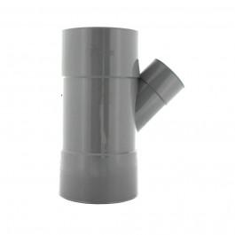 Culotte PVC réduite 45° Femelle Femelle Ø100/50 FIRST-PLAST
