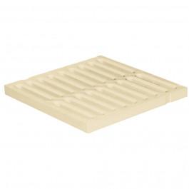 Grille de sol PVC renforcée anti-choc - SABLE - FIRST-PLAST