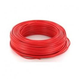 Fil électrique HO7VU 1.5mm² Rouge en 100m