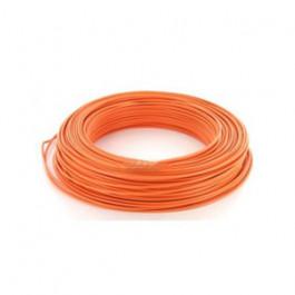 Fil électrique HO7VU 1.5mm² Orange en 100m