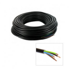 Câble électrique R2V 4G1.5mm² en bobine de 100m