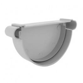 Fond de gouttière PVC 33 demi-ronde