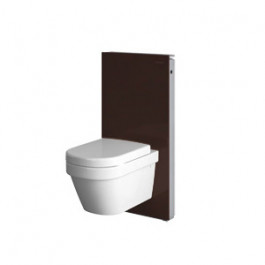 geberit panneau monolith pour wc suspendu chocolat. Black Bedroom Furniture Sets. Home Design Ideas