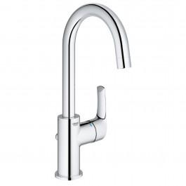 GROHE Mitigeur lavabo bec haut Nouveau Eurosmart 23537002