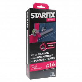 Sortie de cloison STARFIX entraxe 150mm PER-Femelle 1/2 (15/21) pour robinetterie sur plaque de plâtre sans cheville