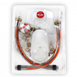 Kit PROPANE Lyre Inox - Sans vanne 4.0kg/h - 37mb