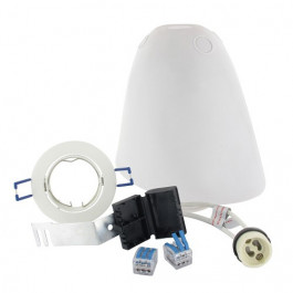 Kit SPOTBOX NO AIR BBC spot LED encastré blanc