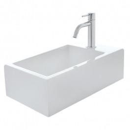 Lave-mains céramique blanc brillant HOX MINI
