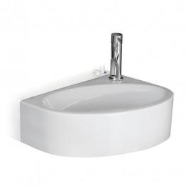 Lave-mains céramique blanc brillant MEGA